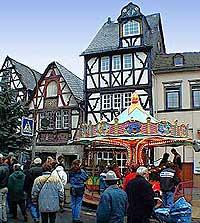 Weihnachtsmarkt in Rhens am Rhein, 29. November. 1998, Foto 35 © Wilhelm Hermann, Oberwesel